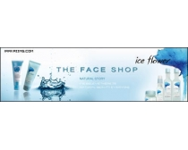 The face shop化妆品广告