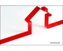 立体线条房产标志图片