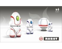 机器人矢量素材