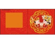 中国传统婚姻矢量素材
