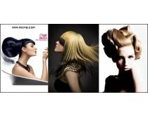 5张时尚发型时时彩娱乐网站素材