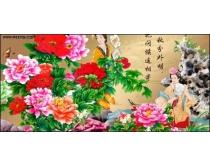 中秋节花好月圆