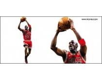 NBA篮球明星乔丹图片