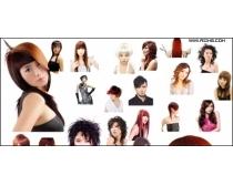 发型模特合集