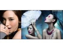 37张中国美女图片素材