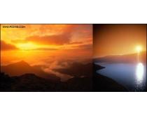 5张日出日落风景高清图片