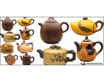 茶壶psd分层素材