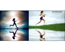 5张跑步人物时时彩娱乐网站