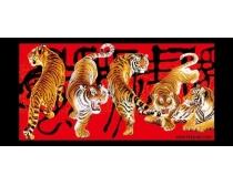 虎年素材精品老虎图片