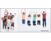 40张活跃的青年团队高清人物图片
