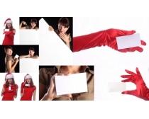 10张手拿卡片的美女时时彩娱乐网站