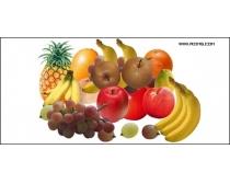 多款水果psd素材