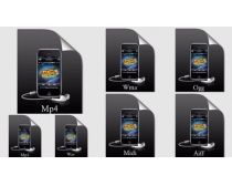 iphone文件格式图标