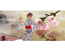 原创手绘日本女人图片