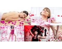 5张玫瑰花与女人时时彩娱乐网站