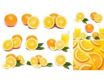3张新鲜橙子高清图片
