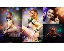 4张迪厅激情女性人物时时彩娱乐网站