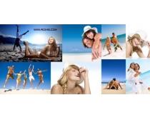 沙滩人物时时彩娱乐网站(8P)