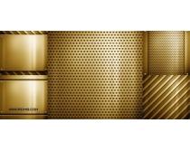 5张高精金色钢板高清图片