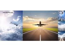 5张高清飞机飞行图片