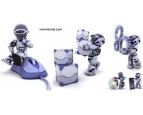 5张3D机械人高清图片