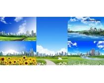 5张城市风景高清图片