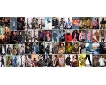 66张服装模特高清图片