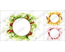 圆形装饰元素矢量素材