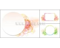花边装饰系列矢量素材