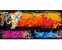 音乐设计元素矢量素材