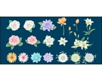 花朵系列矢量素材