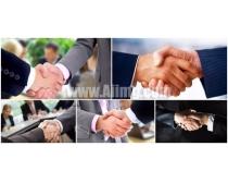 5张商务握手时时彩娱乐网站
