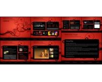 国外商业网站模板设计源文件