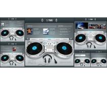 国外DJ网页设计模板