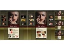 国外图片网页模板设计