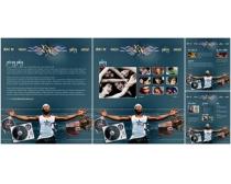个人图片网站模板