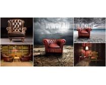 5张老式家居椅子高清图片