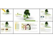 清爽白色创意网页模板