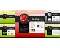 色彩創意網頁模板