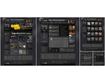 炫黑游戏网站模板