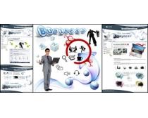 国外商务设计网页模板