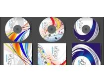 精美时尚CD封面模板矢量素材