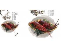 龙虾风味美食图片素材