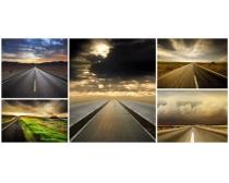 延伸向远方的公路图片5P