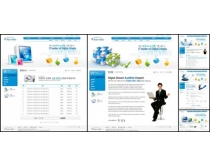 创意网站商业模板