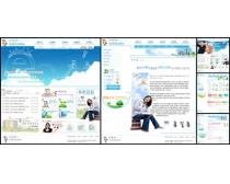 韩国教师网页模板设计