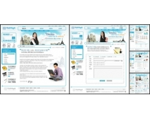 韩国传统文化网页模板