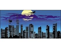 夜晚的城市精美时时彩平台娱乐