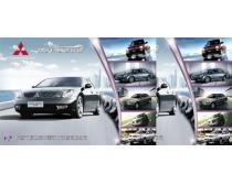 腾达汽车广告海报设计
