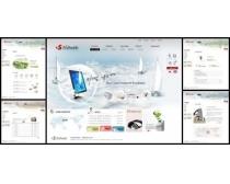 创意海洋数码产品网页模板